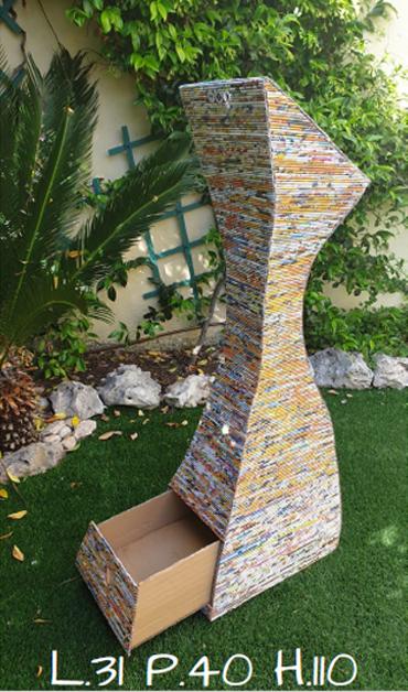 mobili di carta da esterno